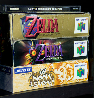 nintendo 64 games legend of zelda majoras mask harvest moon 64