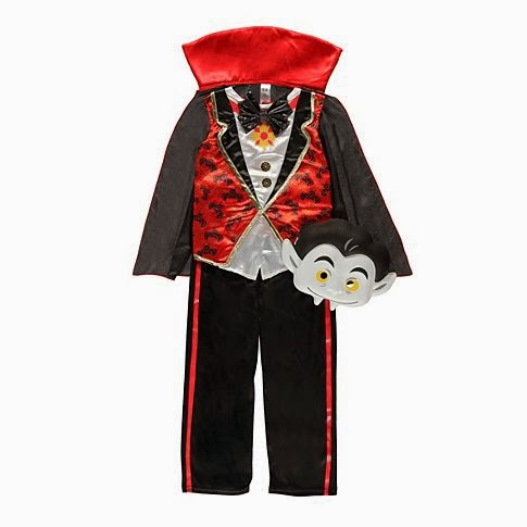 mamasVIB | V. I. BUYS: Halloween Style from the Supermarket, dracula costume | George at asda | halloween | mamasVIB