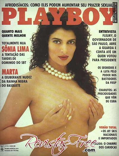 Sonia Lima - Playboy Dezembro 1991