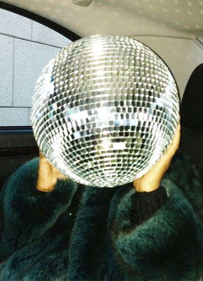 Disco fotokunst fundet op W-magazine