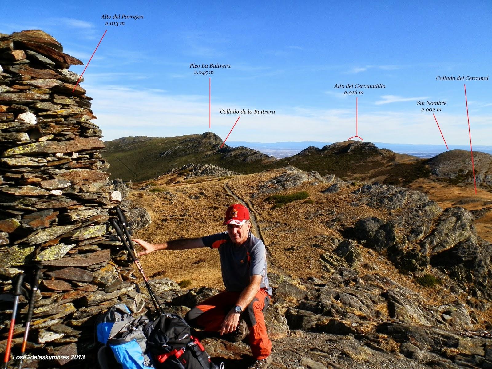 El Parrejón - hacia Pico de la Buitrera