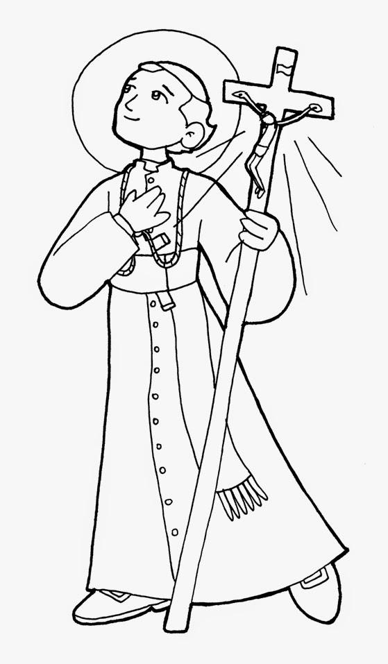 Pastoral Vocacional CPPS: Nuevo Dibujo de San Gaspar del Búfalo