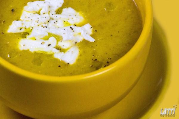 Gouden gazpacho
