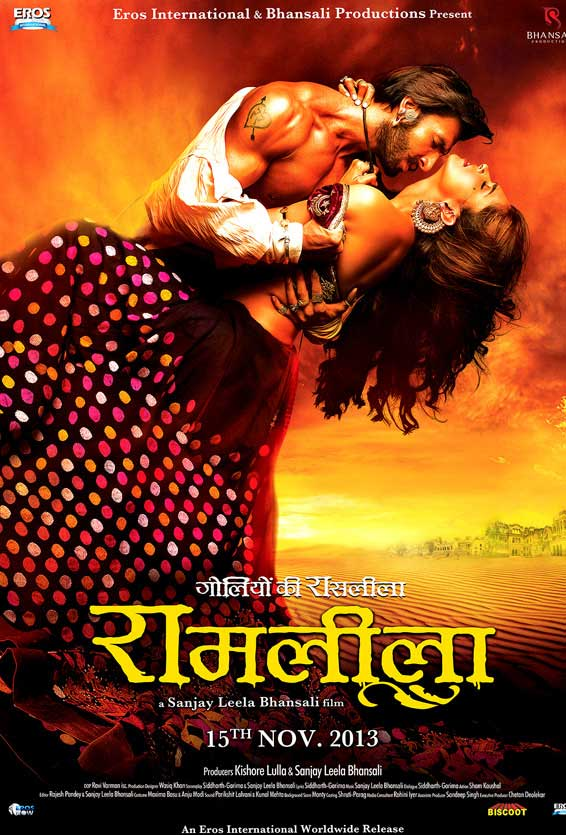 Ram Leela Movie Poster