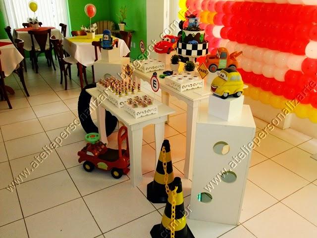decoracao festa infantil carros provencal