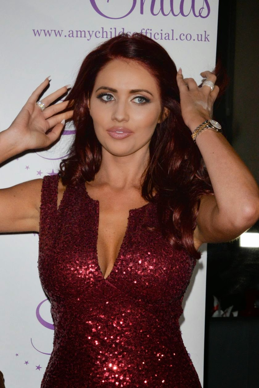 British TV Personality Amy Childs Looks Spectacular at Amy Childs Clothing 3rd Anniversary Party