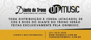 Diante do Trono e ONIMUSIC celebram acordo de Distribuição com Exclusividade