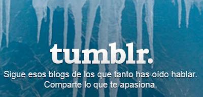 crear un blog en Tumblr