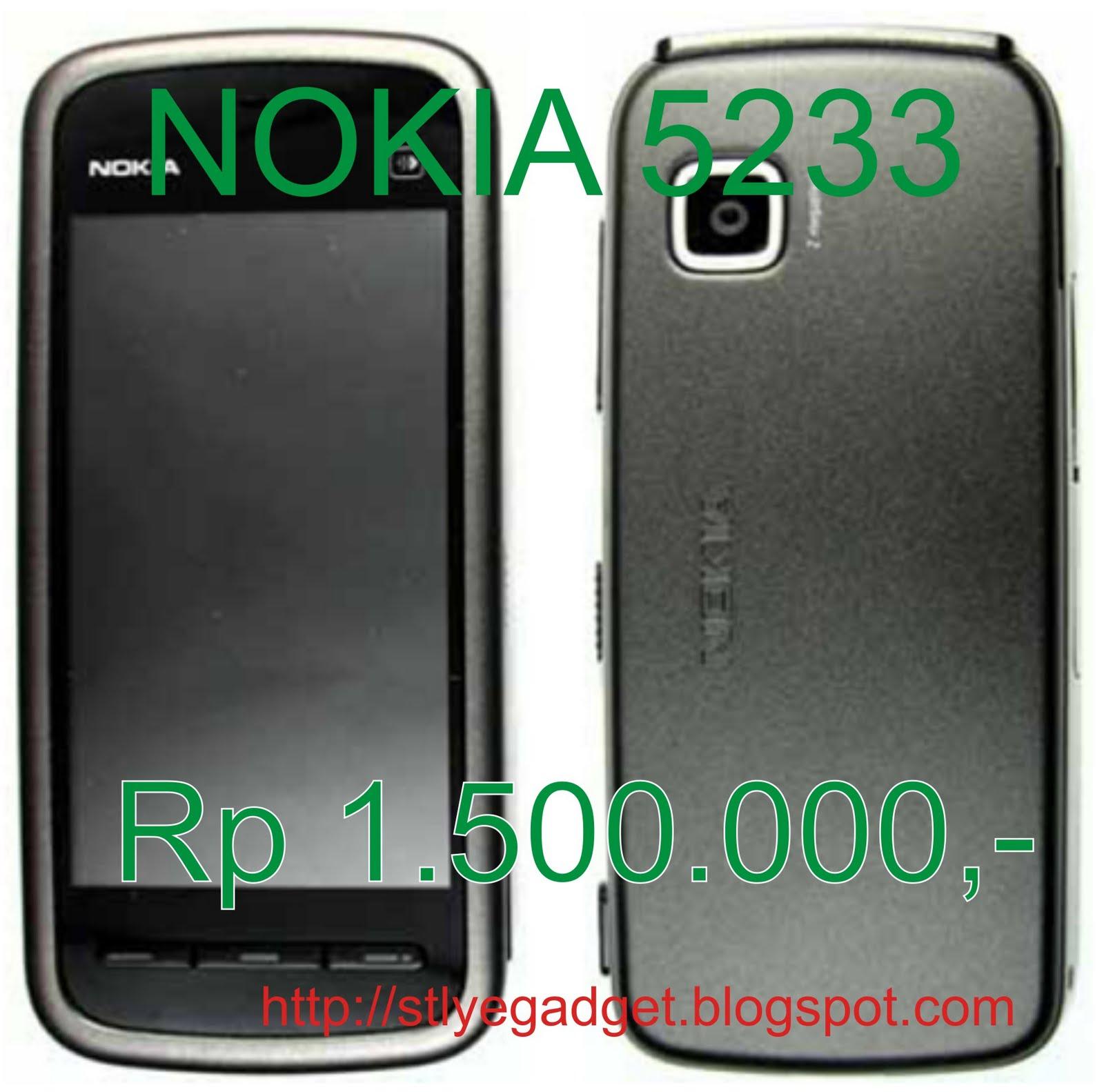 Nokia 5233 Jual hp nokia 5233