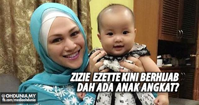 Setelah pulang Umrah, Zizie Ezette kini berhijab dan Ada anak angkat?
