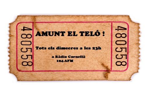 """@teatrecatalunya col·labora a """"Amunt el teló!"""" fent la secció """"Apunts de teatre"""""""