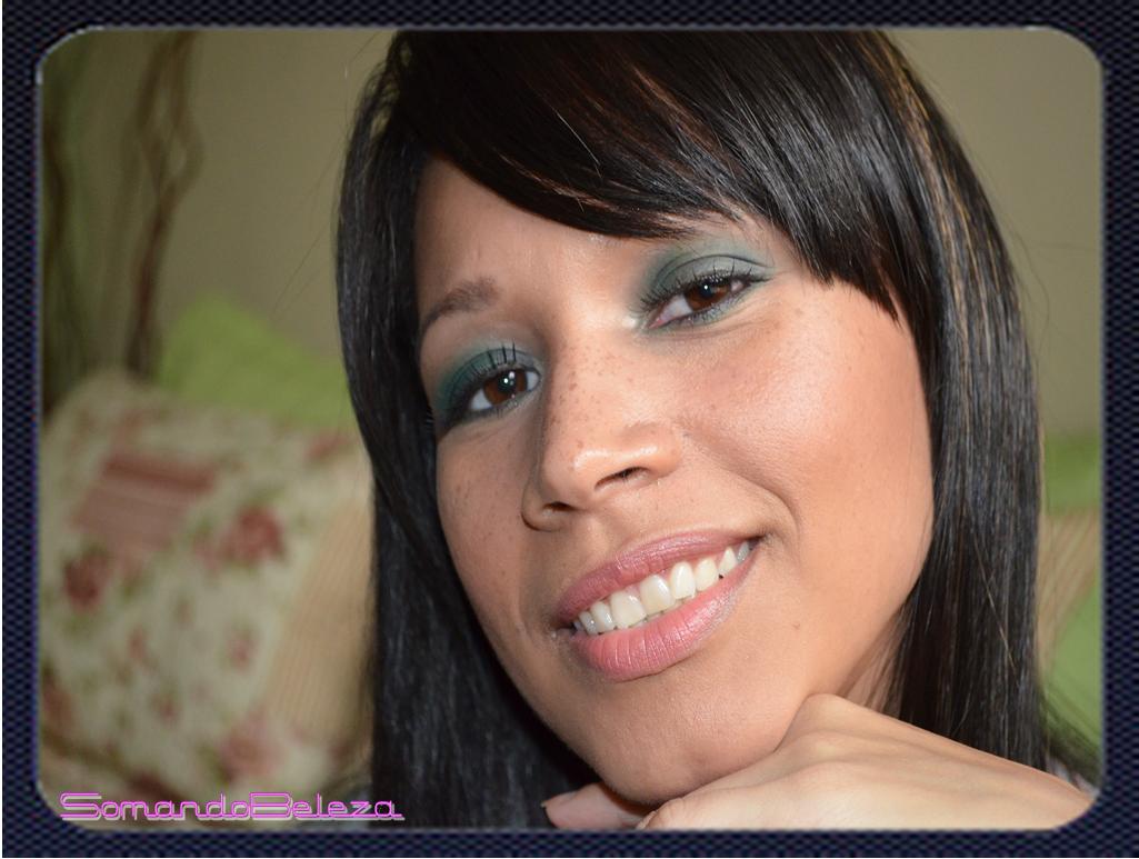 Tutorial, maquiagem, make, esfumado verde