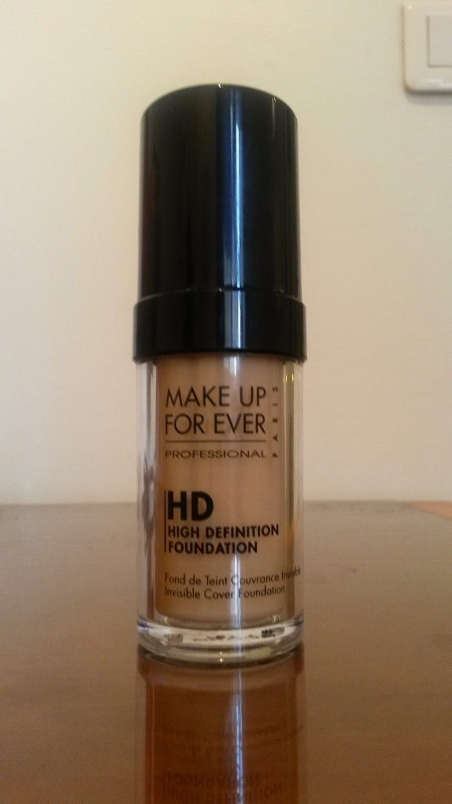 Fond de teint HD de Make up for Ever MUFE
