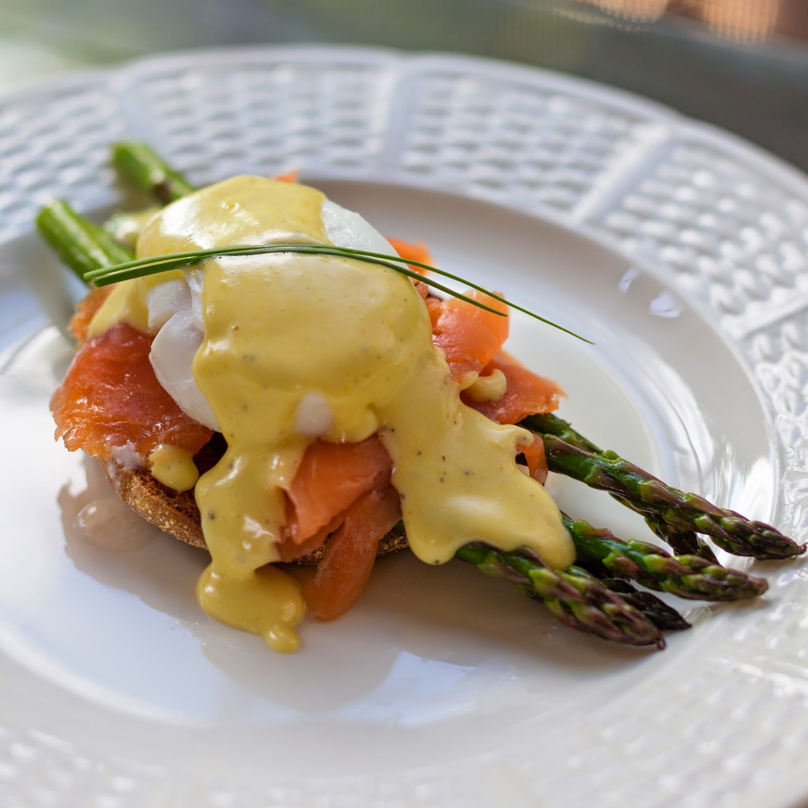 Smoked Salmon Eggs Benedict Recipe — Dishmaps