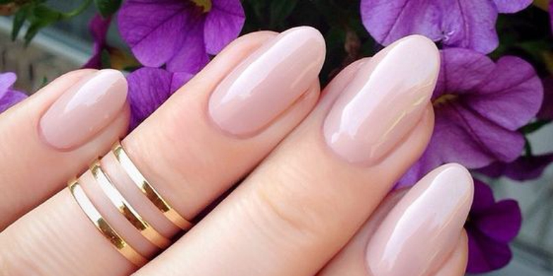 Awesome Wedding Nails in Natural Colors!