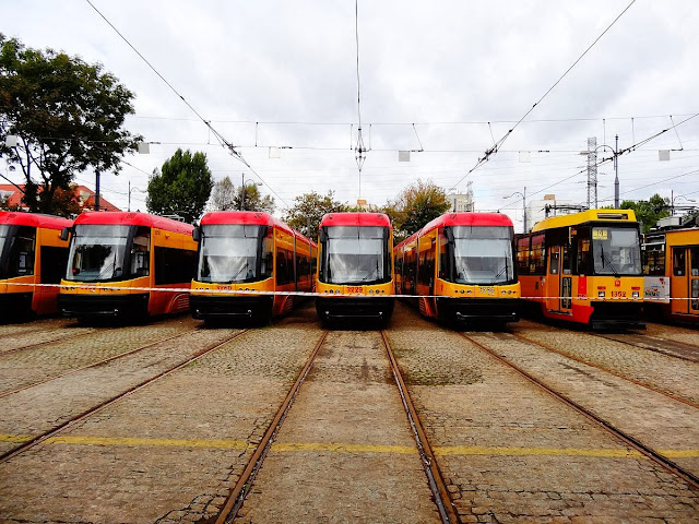 Dni Transportu Publicznego na Woronicza w Warszawie.