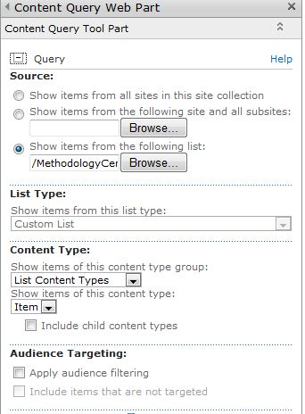 Sharepoint 2018 content query web part slots