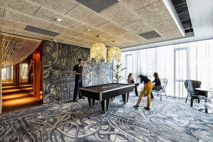 oficinas espectaculares, Google, Dublín