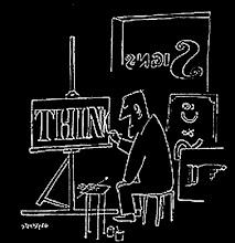 Think, man, think