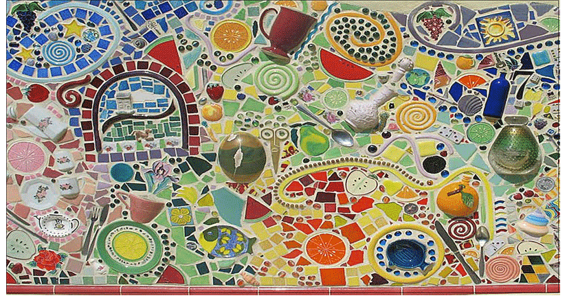 Yeasty Mosaic at Disney&#39;s California Adventure