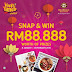 Jan8-Feb29: OLDTOWN White Coffee Happy Times Contest: Snap & win RM88,888 worth of prizes #oldtownhappy