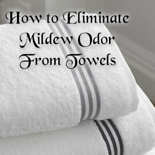 How to Eliminate Mildew Odor From Towels