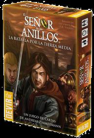 """Juegos de Mesa: reseña de """"El Señor de los Anillos"""", Juego De Cartas [Devir]."""