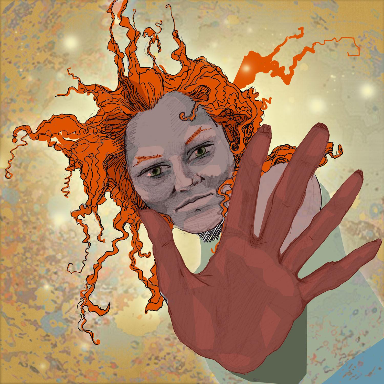 ilustracje make up kobieta kobiece Urbaniak portrety ilustracja na blogi strony internetowe do artykułów wierszy opowiadań