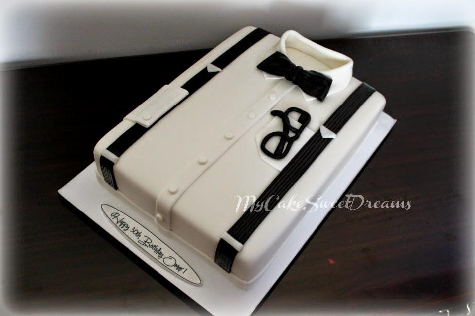 My Cake Sweet Dreams White Shirt Birthday Cake