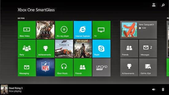Xbox One SmartGlass BETA for Android, Windows Phone and Windows 8.1
