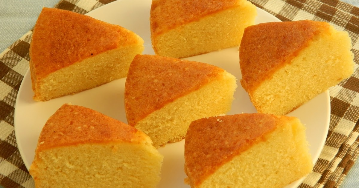 Basic Sponge Cake Recipe In Cups