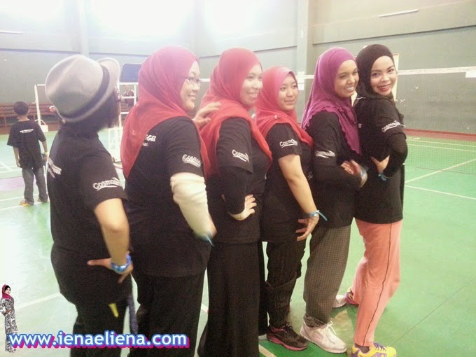 Badminton ala Heboh -KBBA Blogger's Day Out