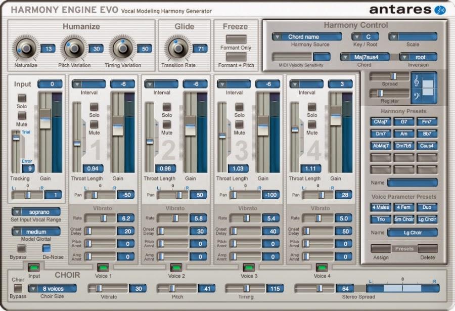Harmony Engine Evo + AVOX 4 (antares)