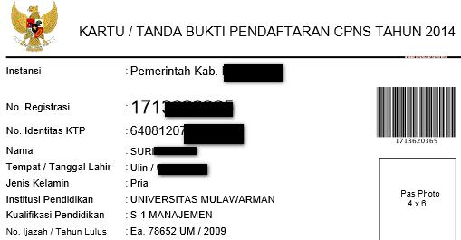 Solusi Cara Username Pasword Tidak Bisa Digunakan Mendaftar CPNS 2014