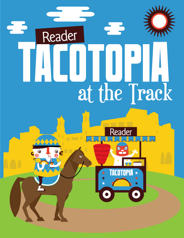 Save on passes & Enter to win tickets to Tacotopia at the Track - August 13