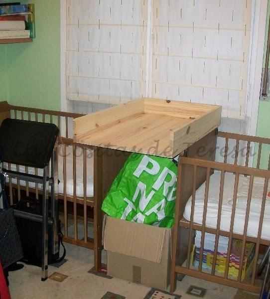 Las cositas de teresa mueble cambiador a medida for Mueble cambiador ikea