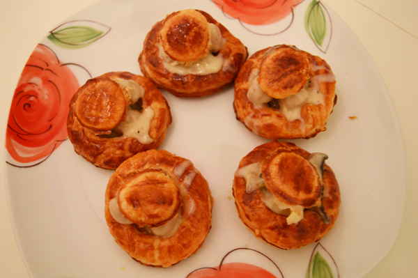 puff pastry pie cups