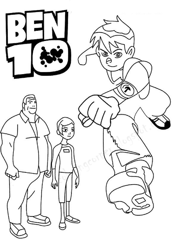 ben coloring pages - photo#35