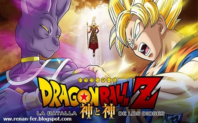Dragon Ball Z La Batalla De Los Dioses [1080p][Dual Audio][1400MB