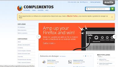 Complementos para o Firefox