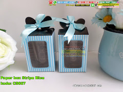 Paper Box Stripe Blue