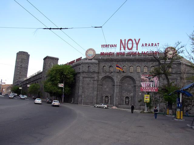 Armenia, Yerevan - fábrica de brandy