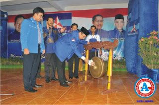 Gagal Aklamasi, H. Qurais Jadi Ketua Demokrat Lewat Voting
