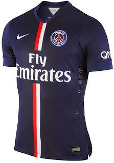 gambar jersey paris Saint Germain home terbaru musim 2014/2015, tempat jual online baju bola grade ori, enkosa.com