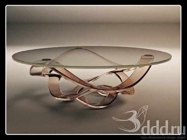 مكتبة موديلات 3d للأثاث المنزلي المجموعة -3- Glass_Coffee+Table.j