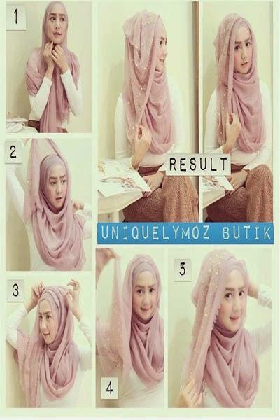 Comment nouer hijab