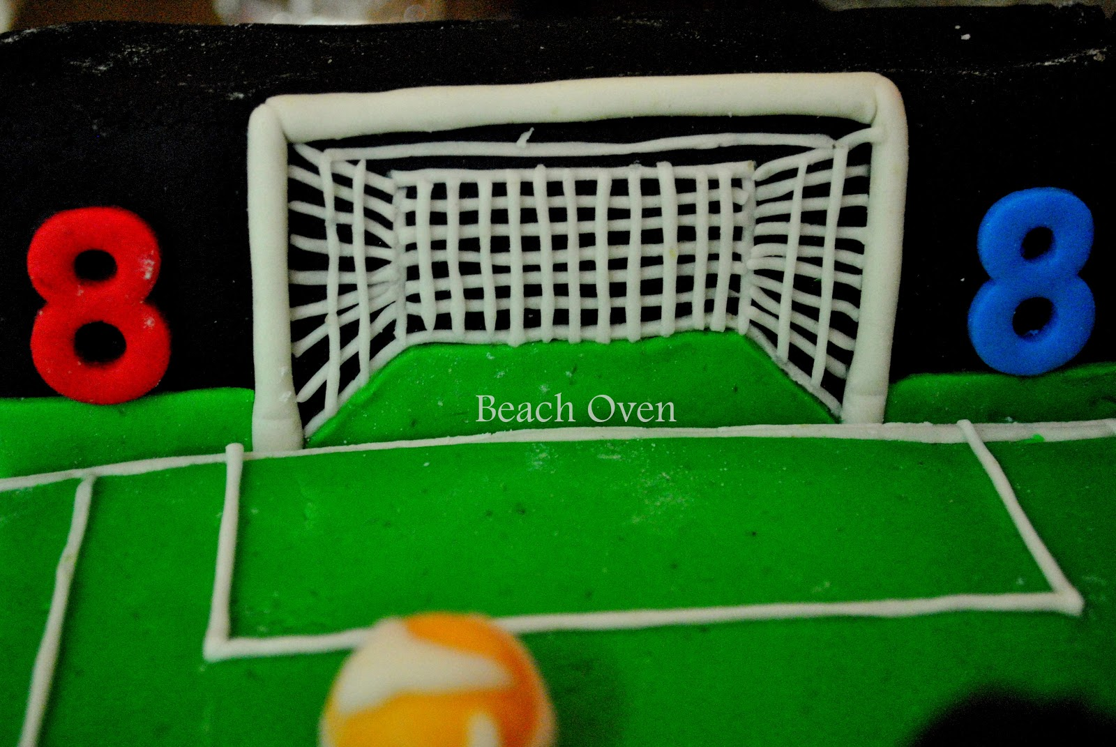 football goal post for cakes