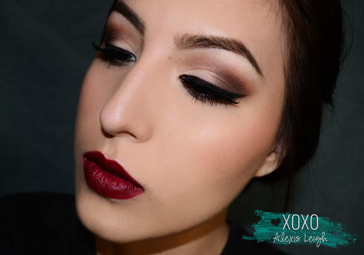 Christmas Party Makeup Tutorial // Makeup   - XOXO Alexis Leigh ...