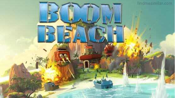 Boom Beach a games like clash of clans