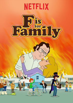 F Is for Family - Todas as Temporadas Completas Desenhos Torrent Download capa
